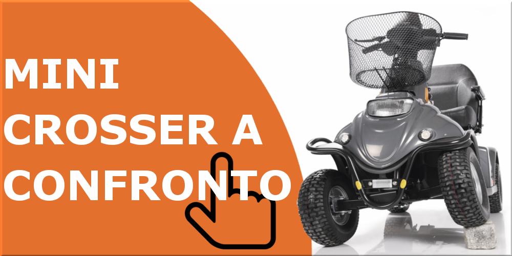 scooter elettrici per disabili ed anziani mini crosser