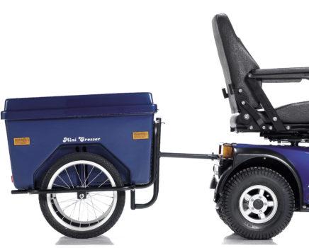 Rimorchio per scooter elettrico