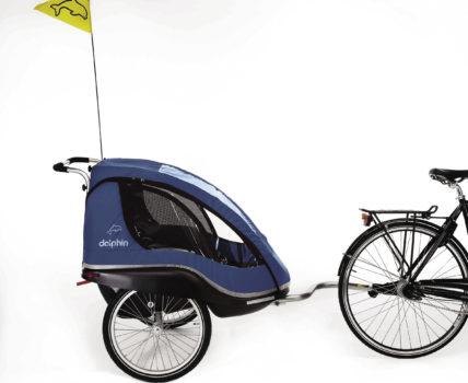 Carrello per bambini da scooter elettrico