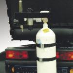 Supporto per bombola d'ossigeno