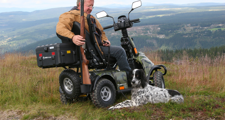 Motorino per anziani e disabili