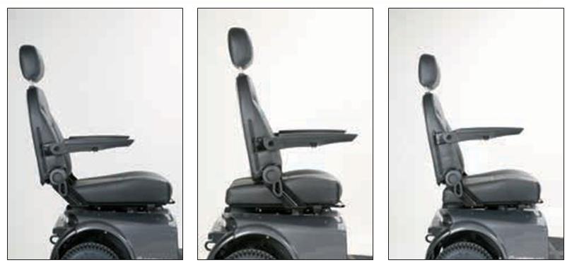 Regolazione profondità sedile Ergo2